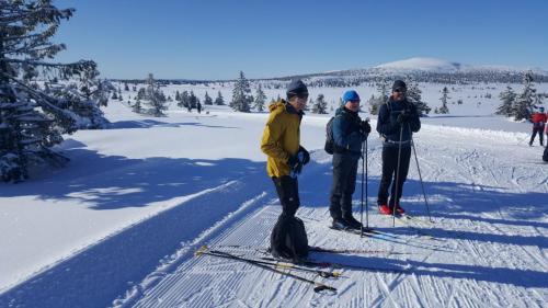 Club ski trip, Sjusjoen, 2020